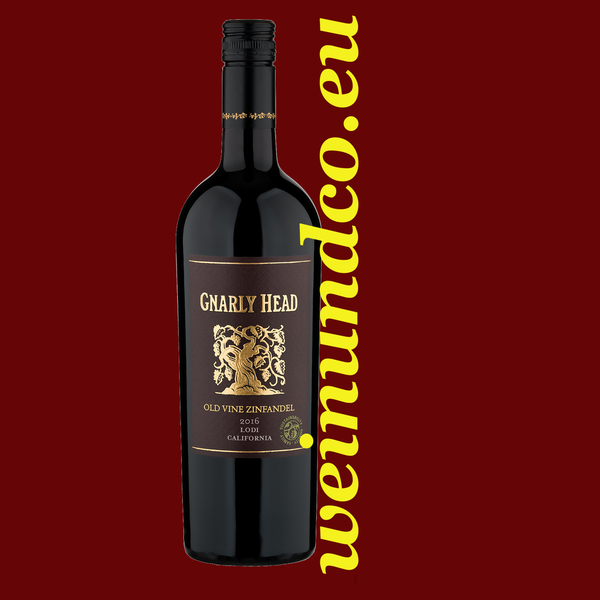 Gnarly Head Old Vine Zinfandel Lodi Kalifornien 2018