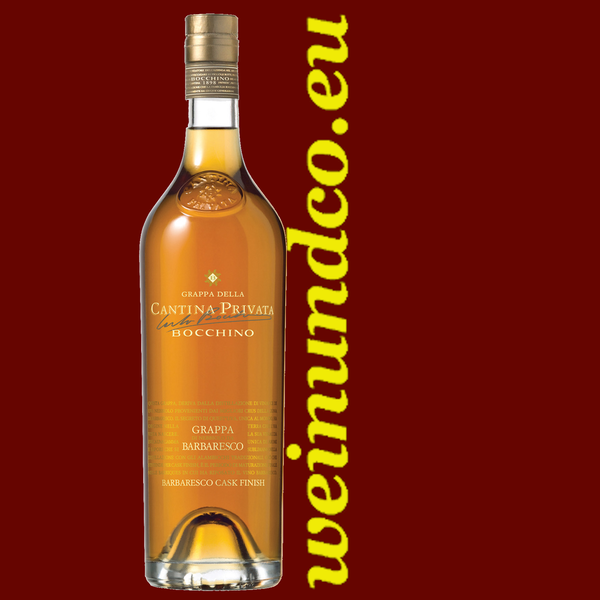 Bocchino Grappa Barbaresco Cask Finish