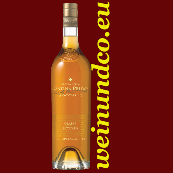 Bocchino Grappa Moscato Cask Finish