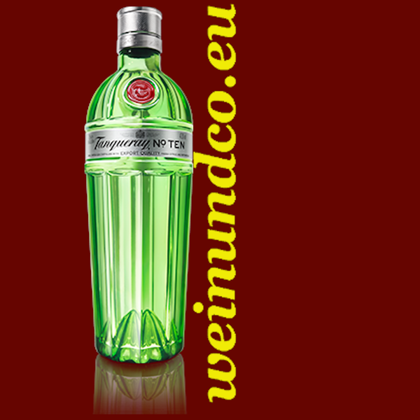 Tanqueray London Dry Gin, No.TEN - 1 Liter/Flasche