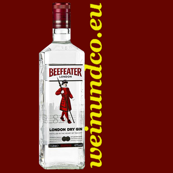 Beefeater London Dry Gin - 1 Liter/Flasche